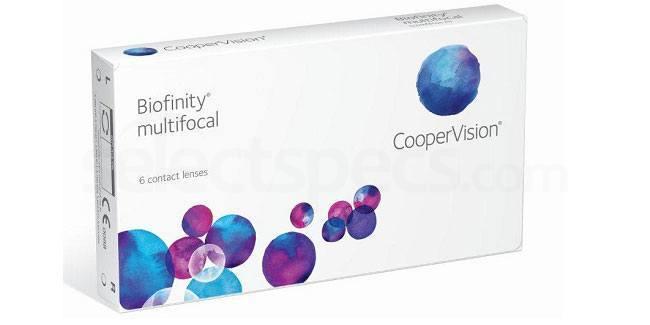 3 Lenses Biofinity Multifocal Lenses, CooperVision