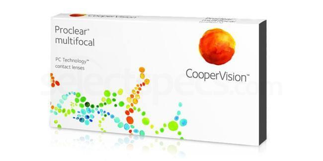 3 Lenses Proclear Multifocal Lenses, CooperVision
