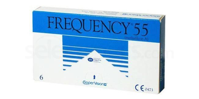 3 Lenses Frequency 55 Lenses, CooperVision