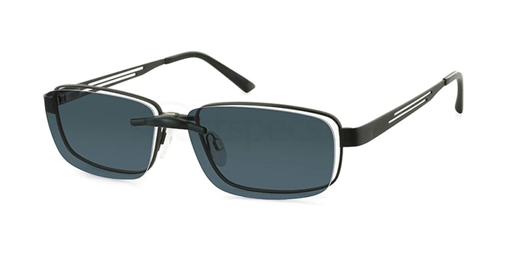 C1 4298 with Clip On Glasses, Hero For Men