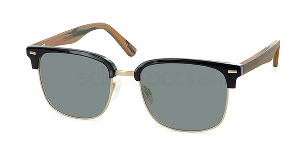 C1 9329 Sunglasses, Ocean Blue