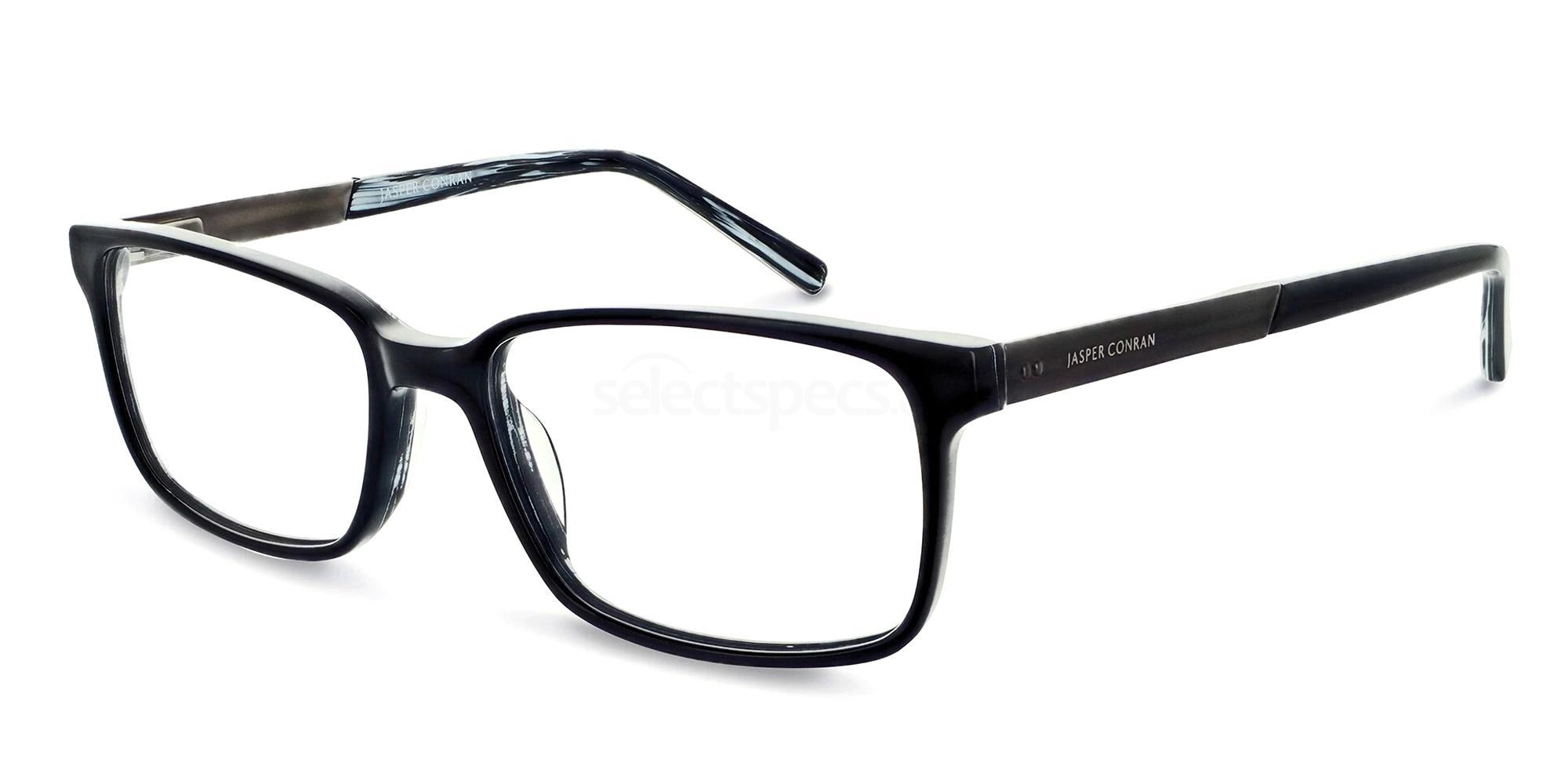 Black JCM001 Glasses, Jasper Conran