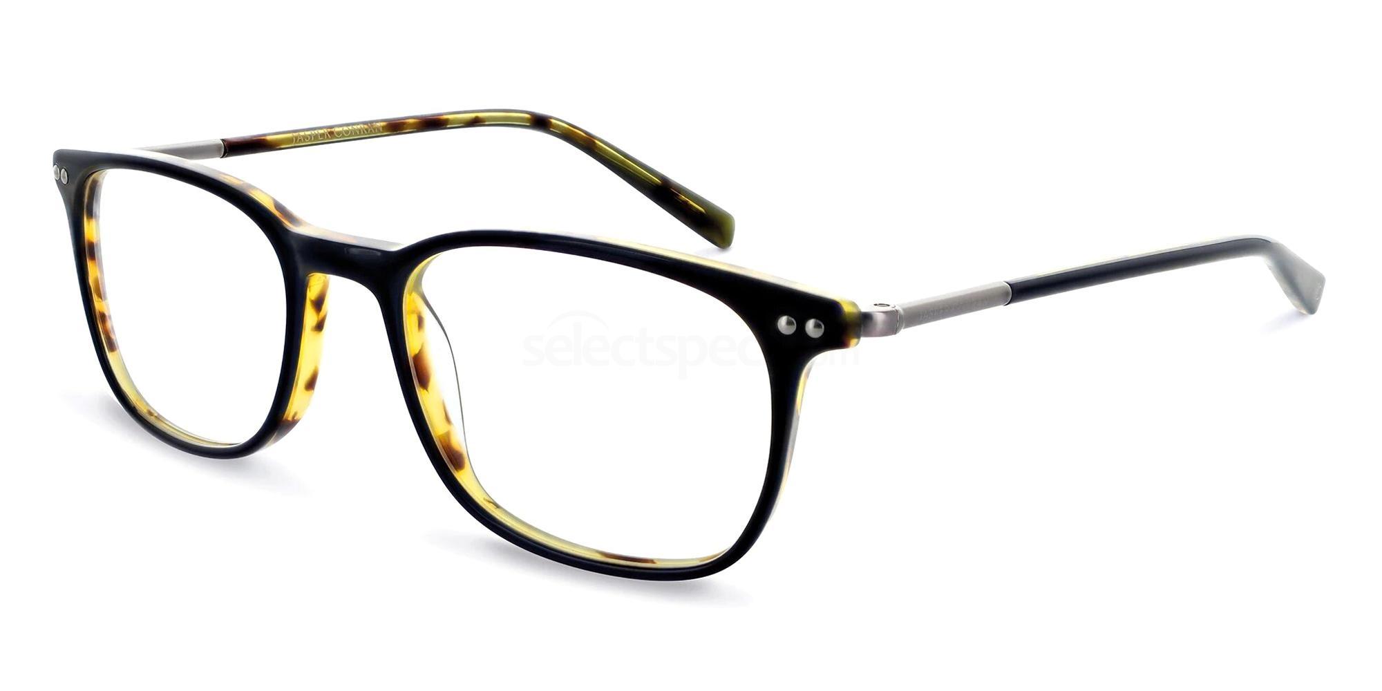 Black/Tort JCM003 Glasses, Jasper Conran