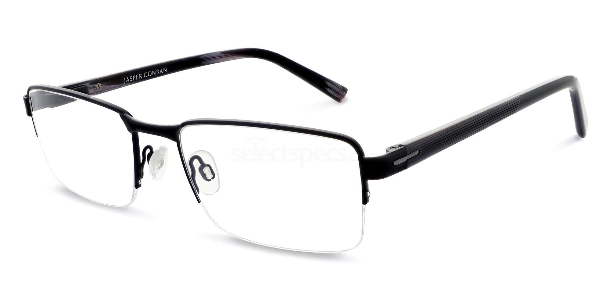 Black JCM012 Glasses, Jasper Conran