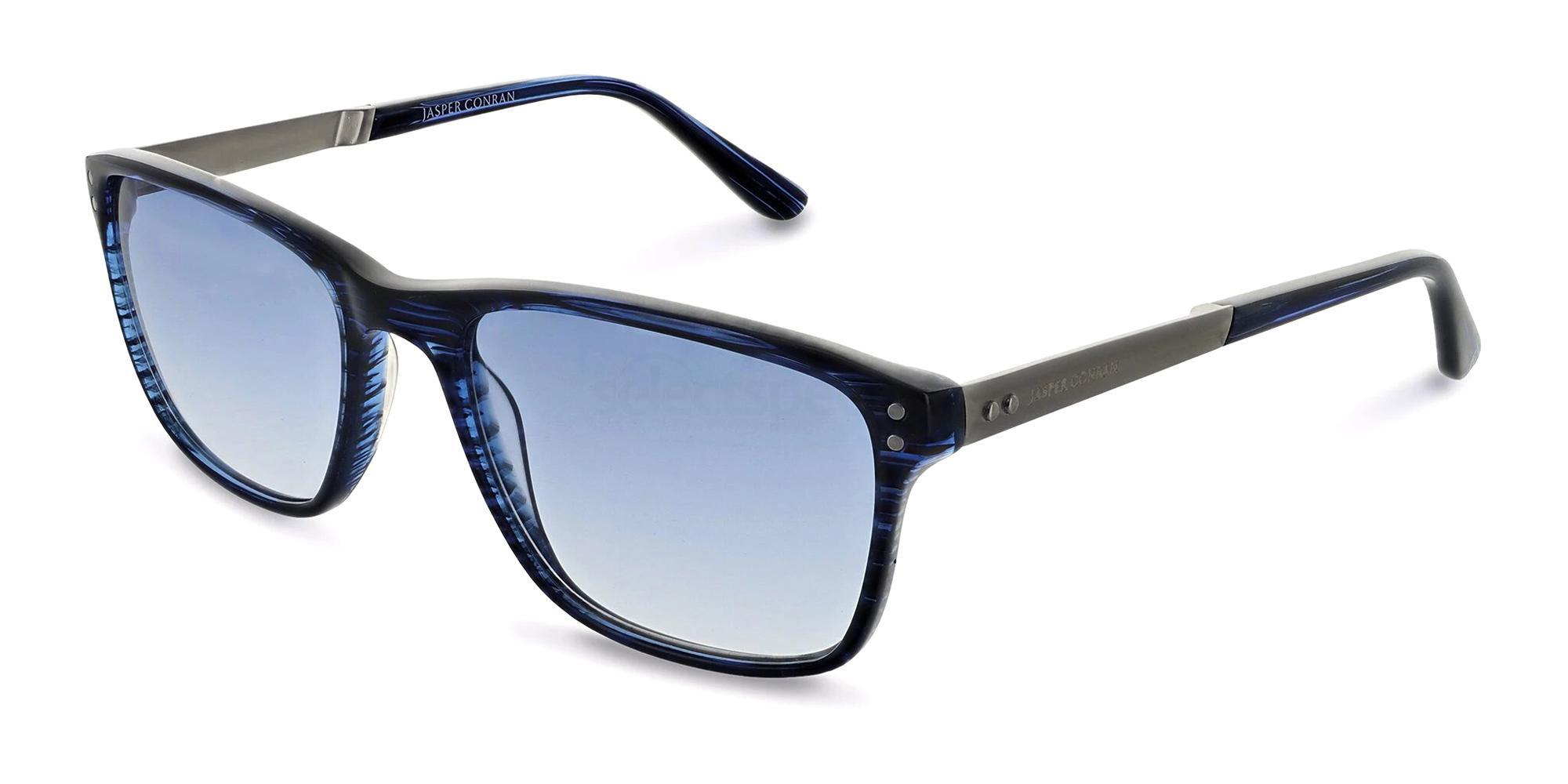 Blue Stripe JCMSUN05 Sunglasses, Jasper Conran