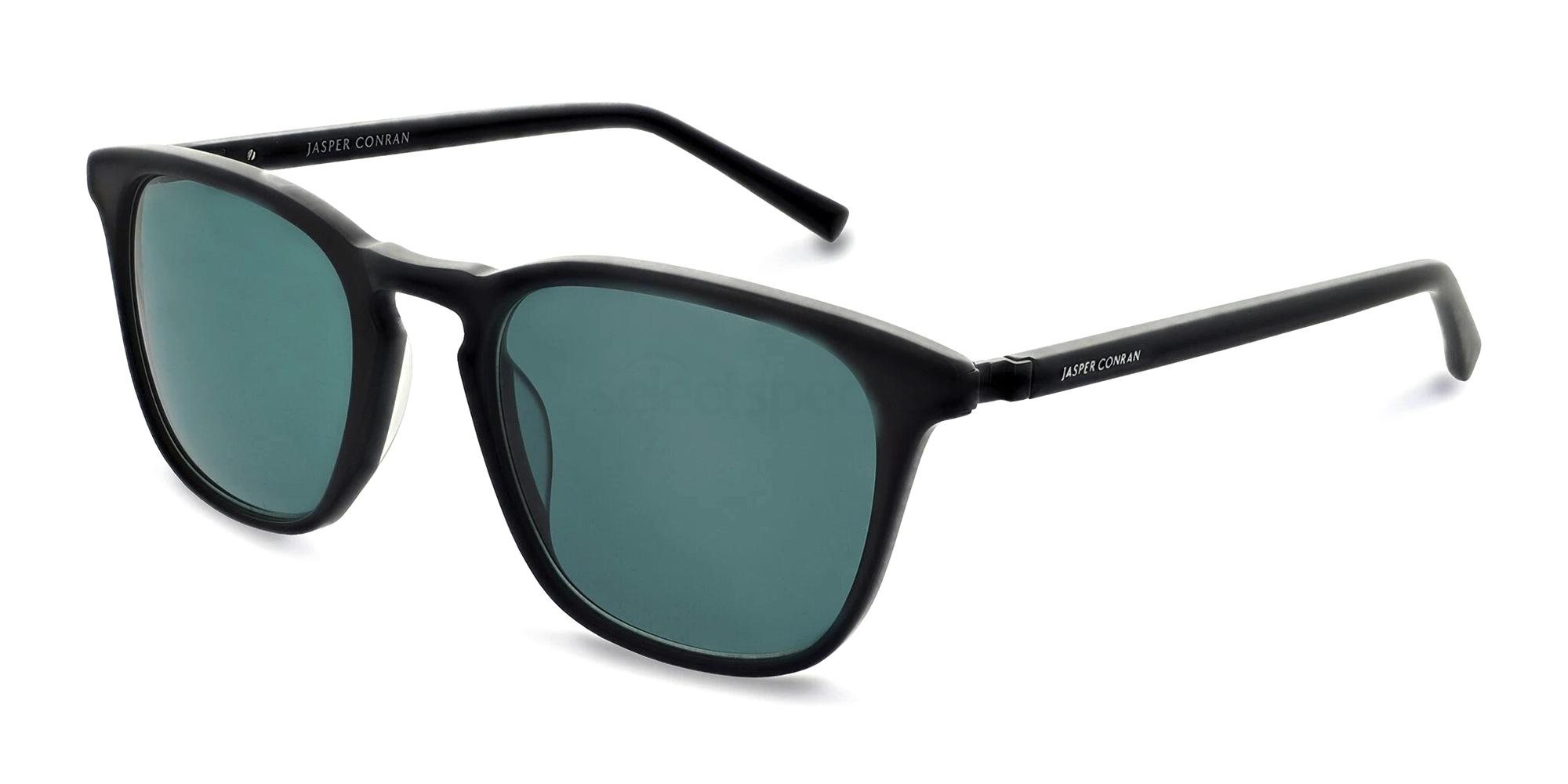 Matte Black JCMSUN15 Sunglasses, Jasper Conran