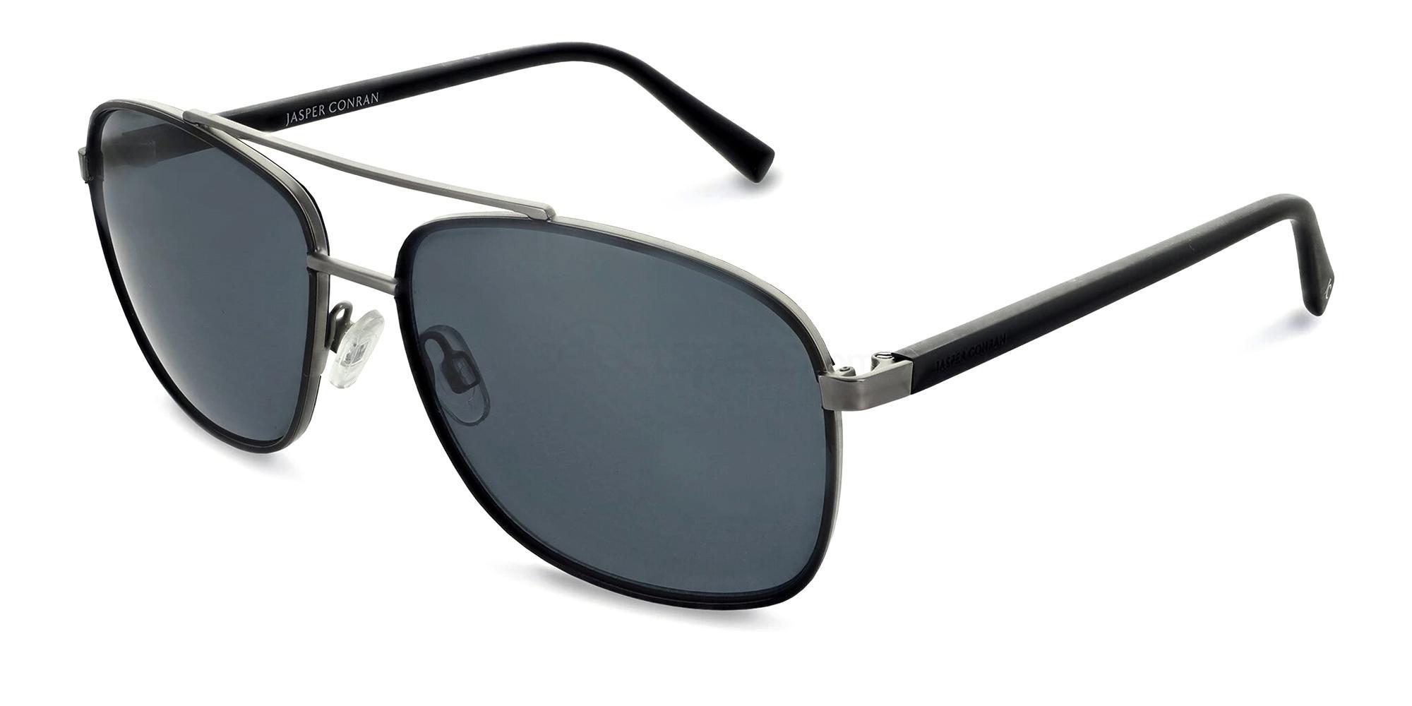 Black/Tort JCMSUN16 Sunglasses, Jasper Conran