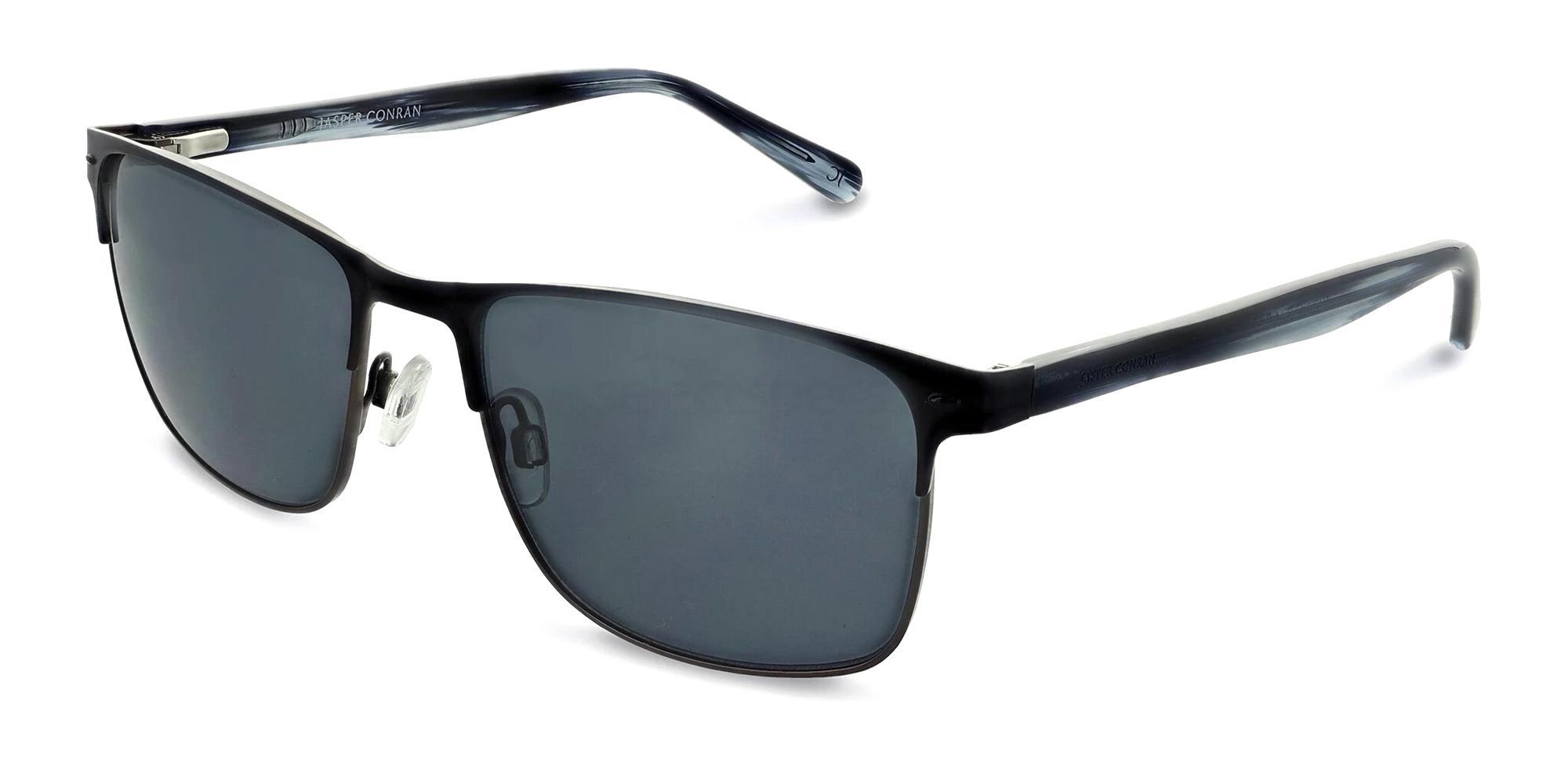 Matte Black JCMSUN17 Sunglasses, Jasper Conran
