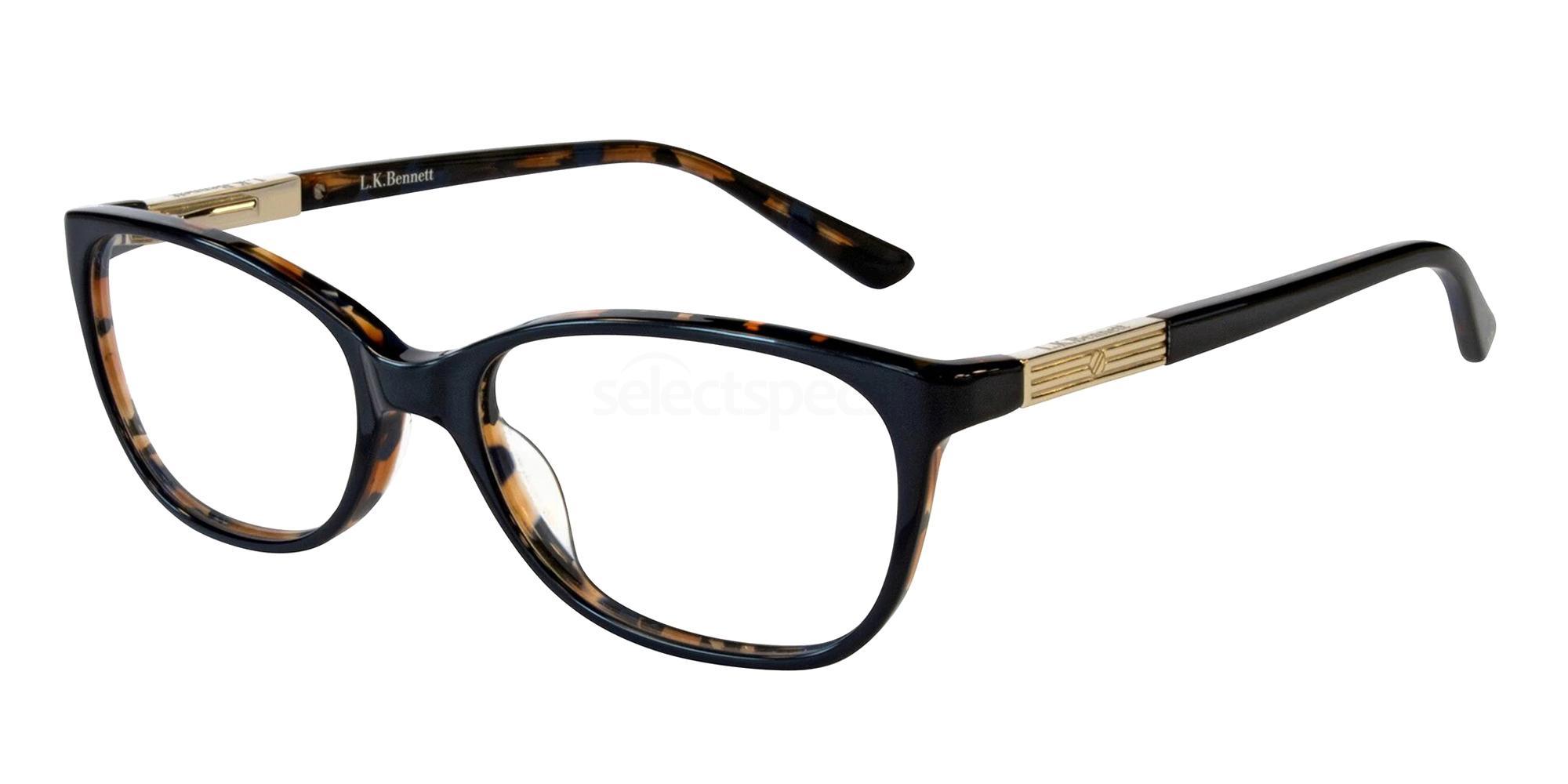 Blue LKB022 Glasses, L.K.Bennett