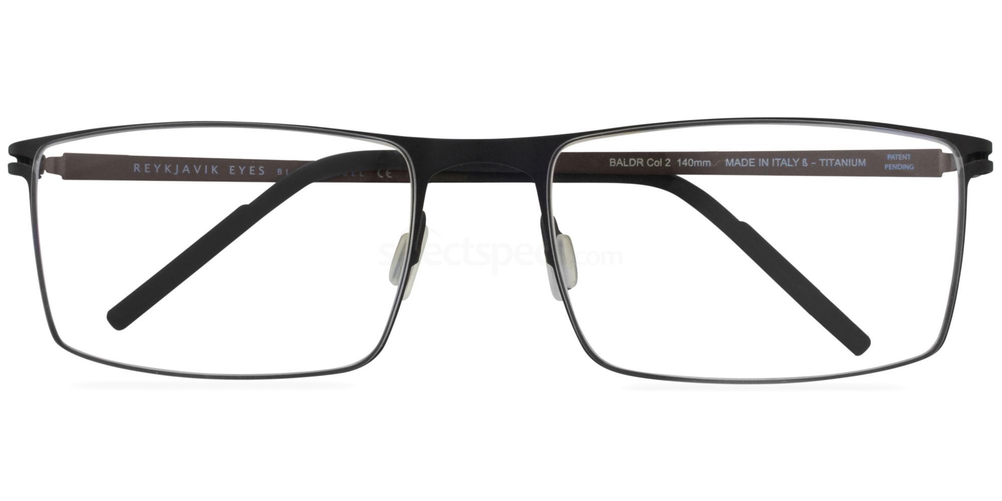 C2 BALDR Glasses, Reykjavik Eyes Black Label