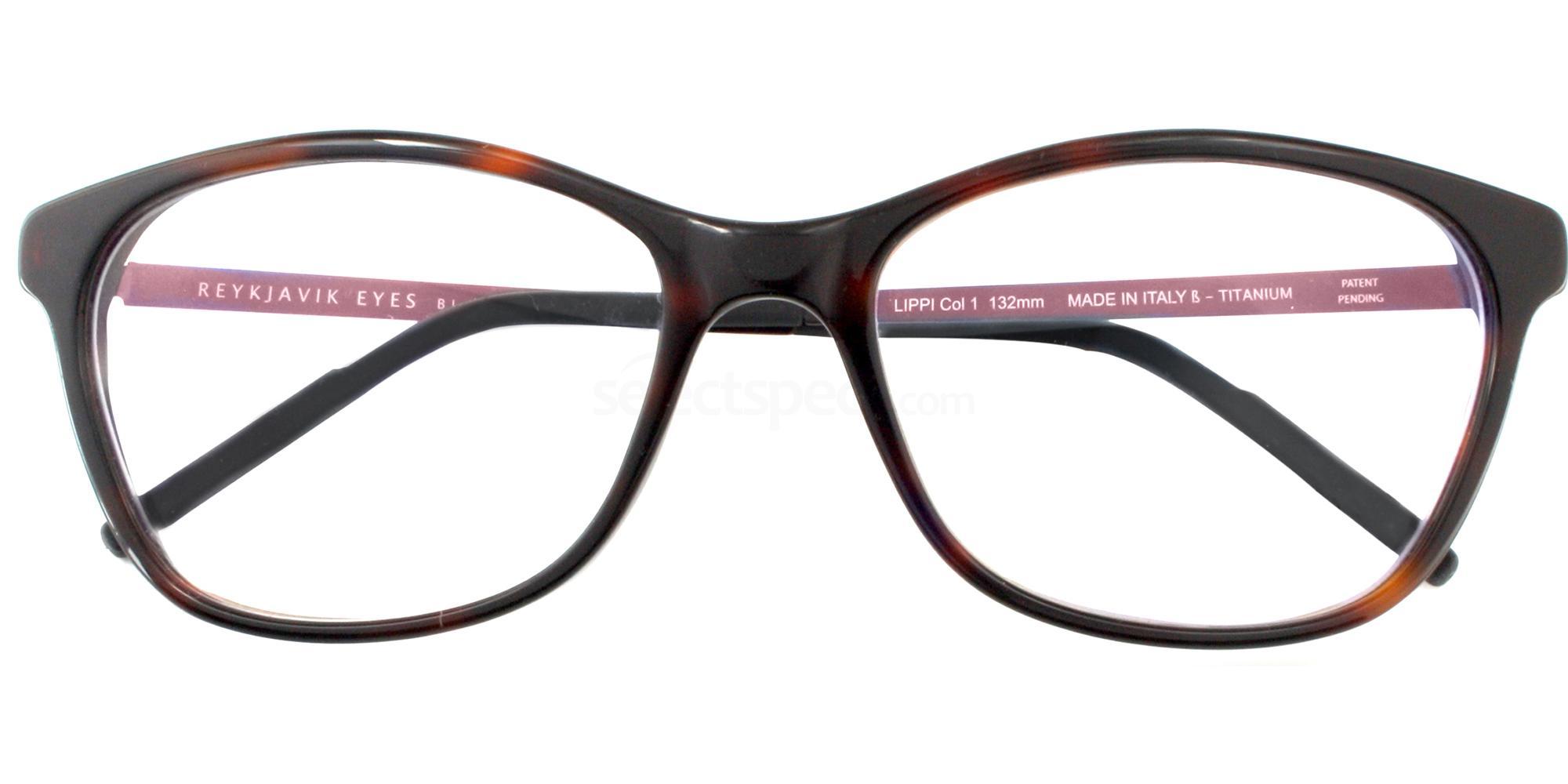 C1 LIPPI Glasses, Reykjavik Eyes Black Label