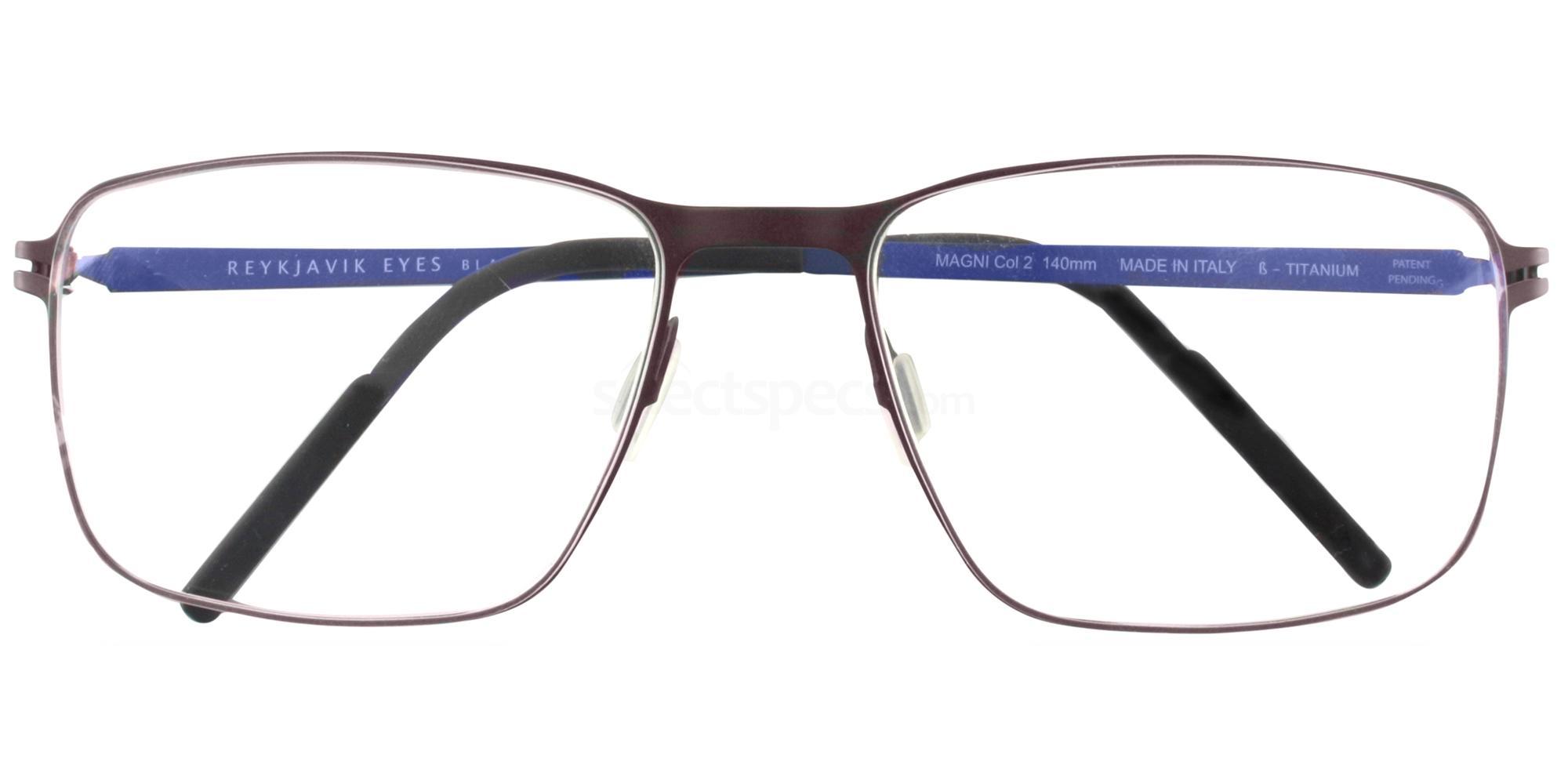 C2 MAGNI Glasses, Reykjavik Eyes Black Label