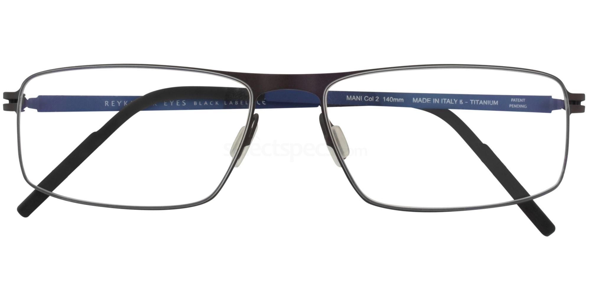 C2 MANI Glasses, Reykjavik Eyes Black Label