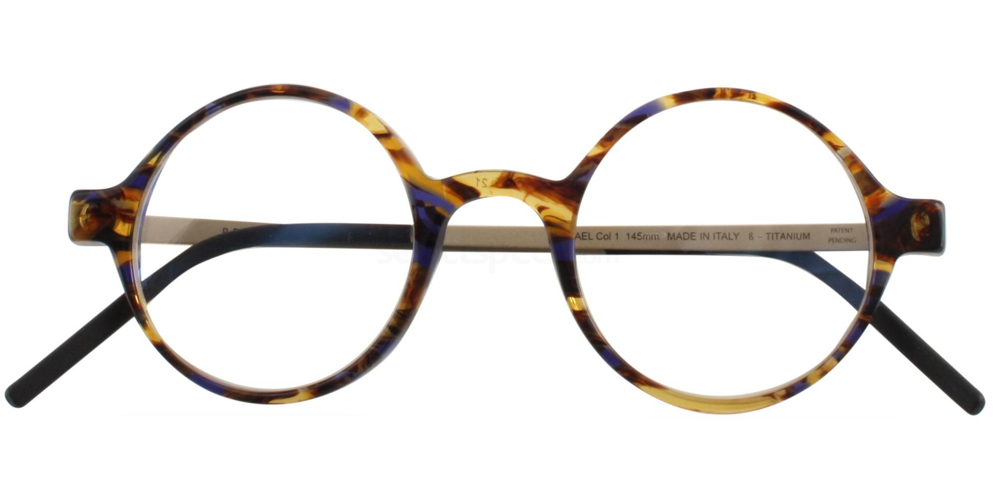 C1 RAPHAEL Glasses, Reykjavik Eyes Black Label