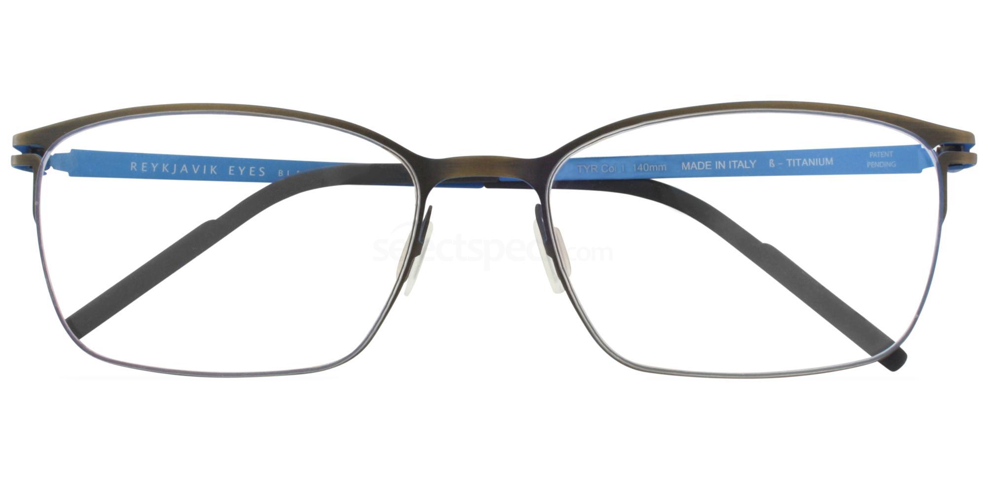 С1 TYR Glasses, Reykjavik Eyes Black Label