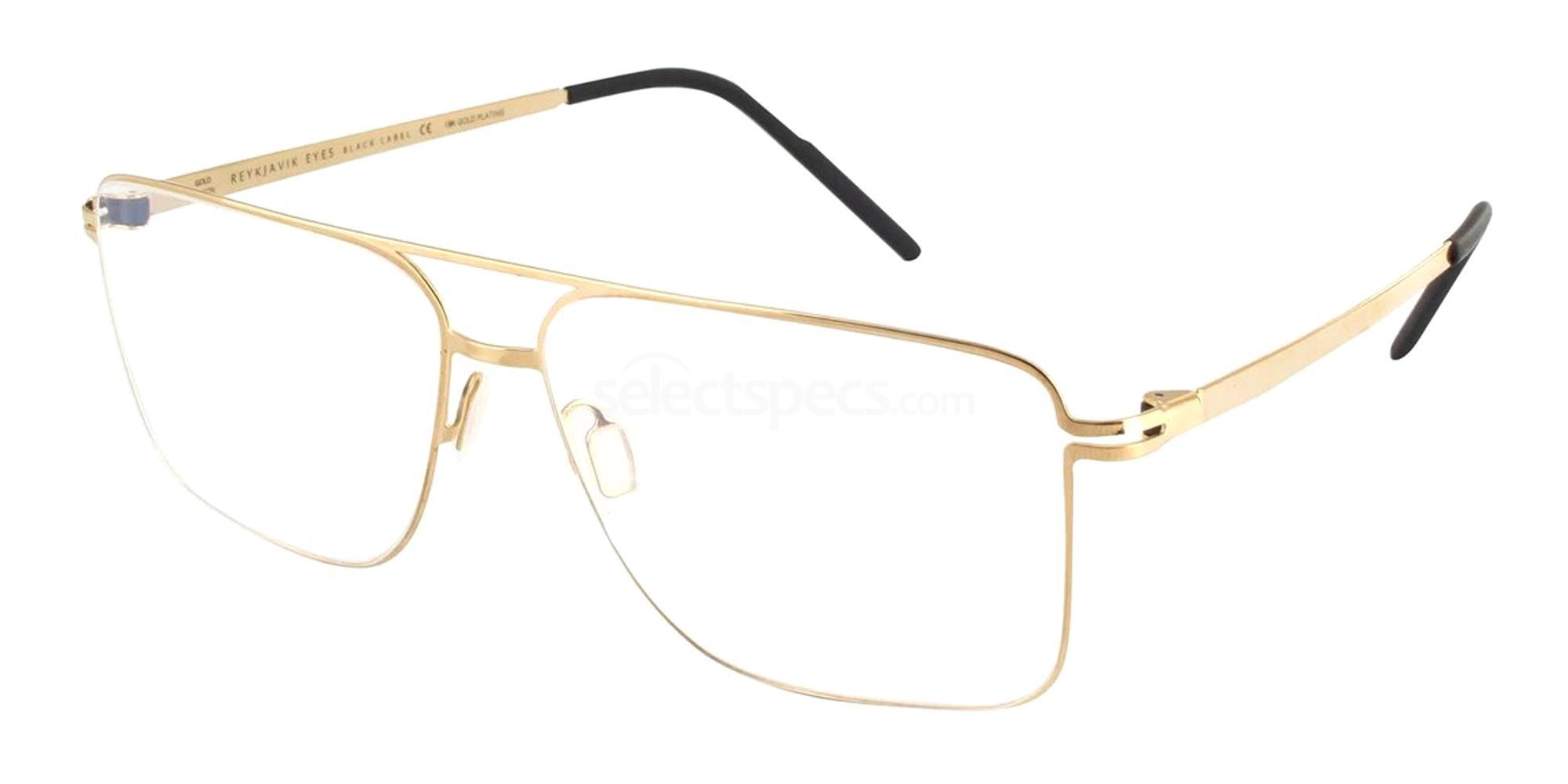 REG/ALF1 ASKJA GOLD EDITION Glasses, Reykjavik Eyes Black Label