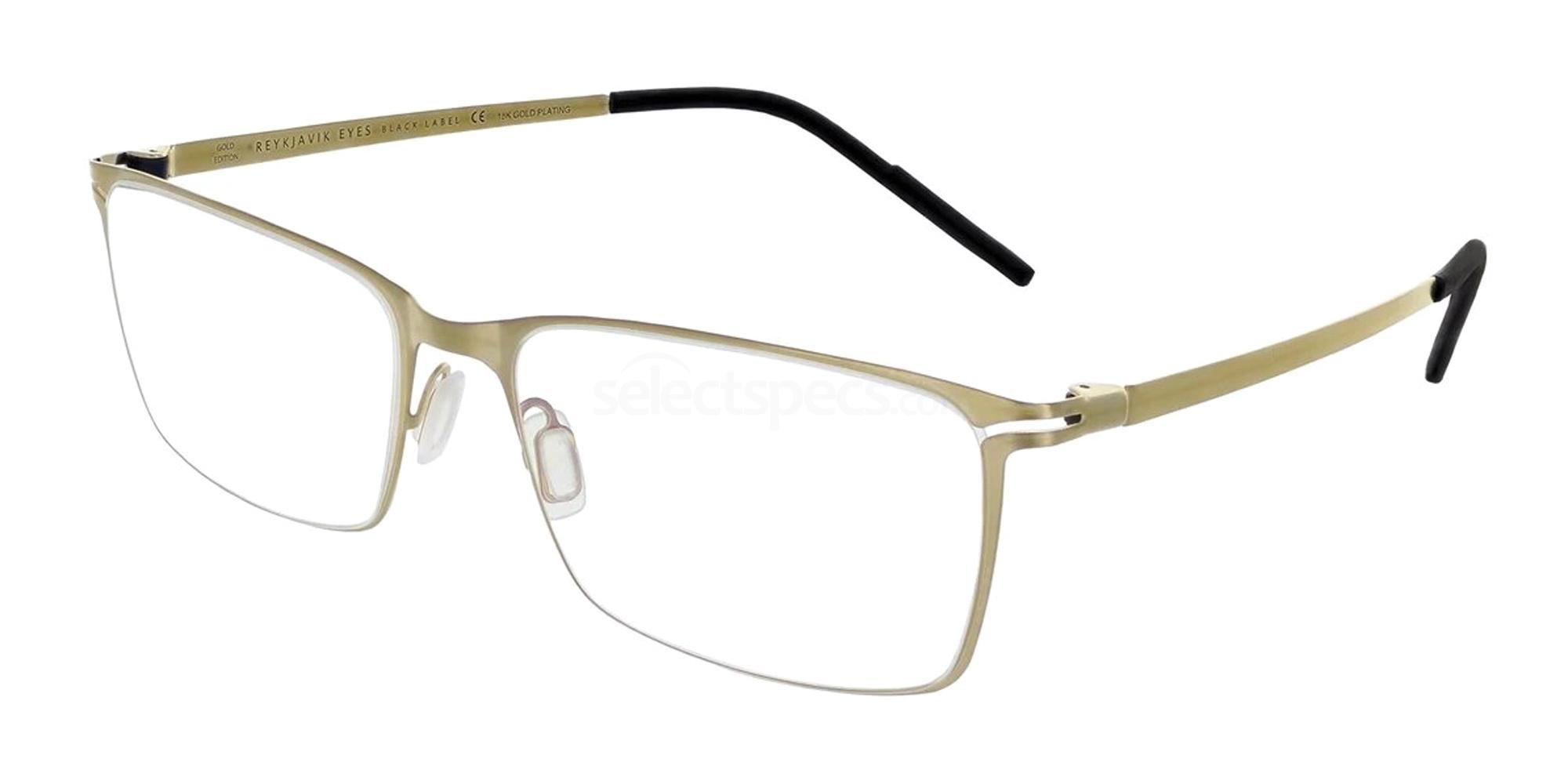 REG/ELD1 ELDFELL GOLD EDITION Glasses, Reykjavik Eyes Black Label