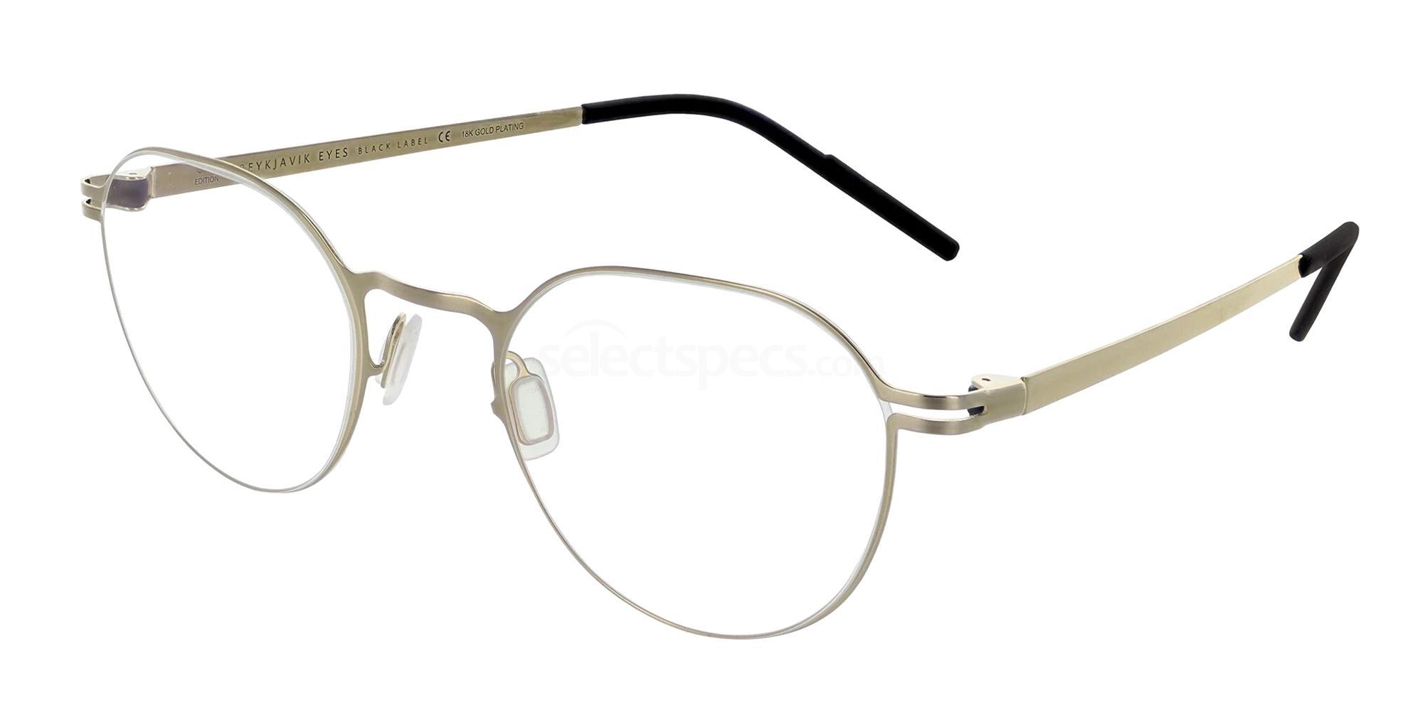 REG/SUR1 SURTSEY GOLD EDITION Glasses, Reykjavik Eyes Black Label