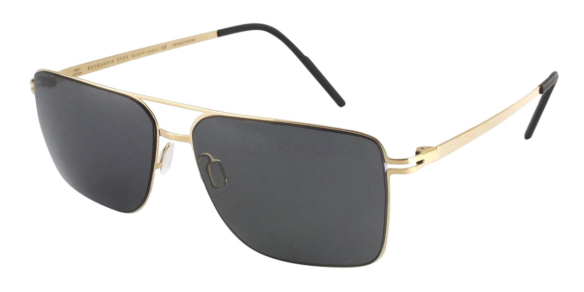 C1 HEKLA GOLD EDITION Sunglasses, Reykjavik Eyes Black Label