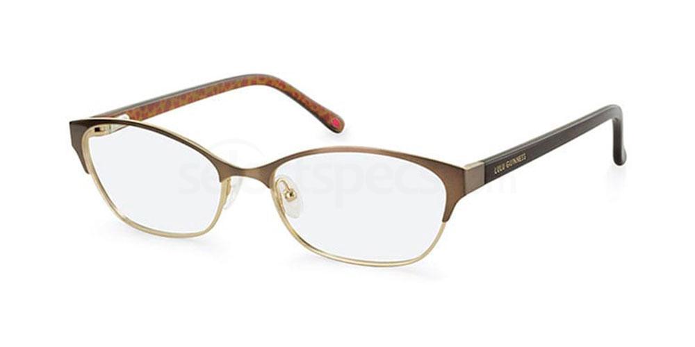 BRN L778 Glasses, Lulu Guinness Eyewear