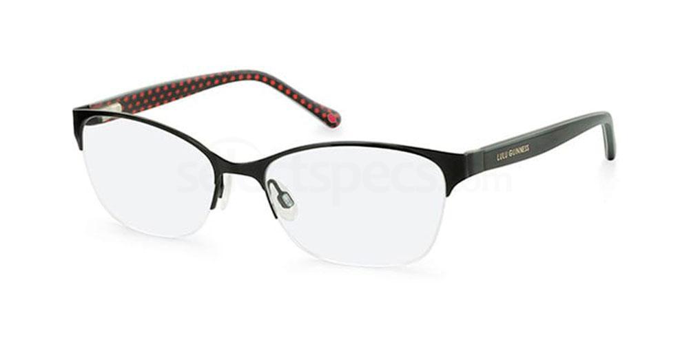 BLK L780 Glasses, Lulu Guinness Eyewear
