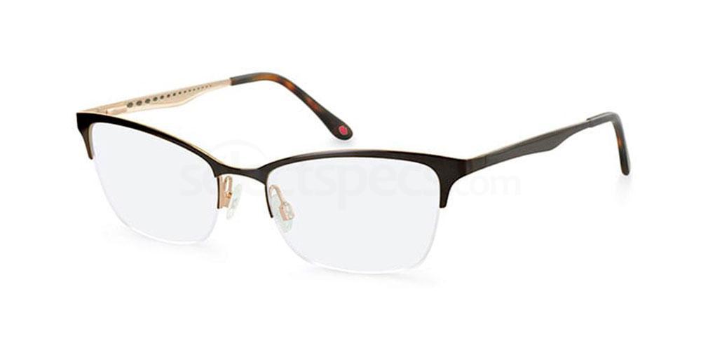 BRN L783 Glasses, Lulu Guinness Eyewear