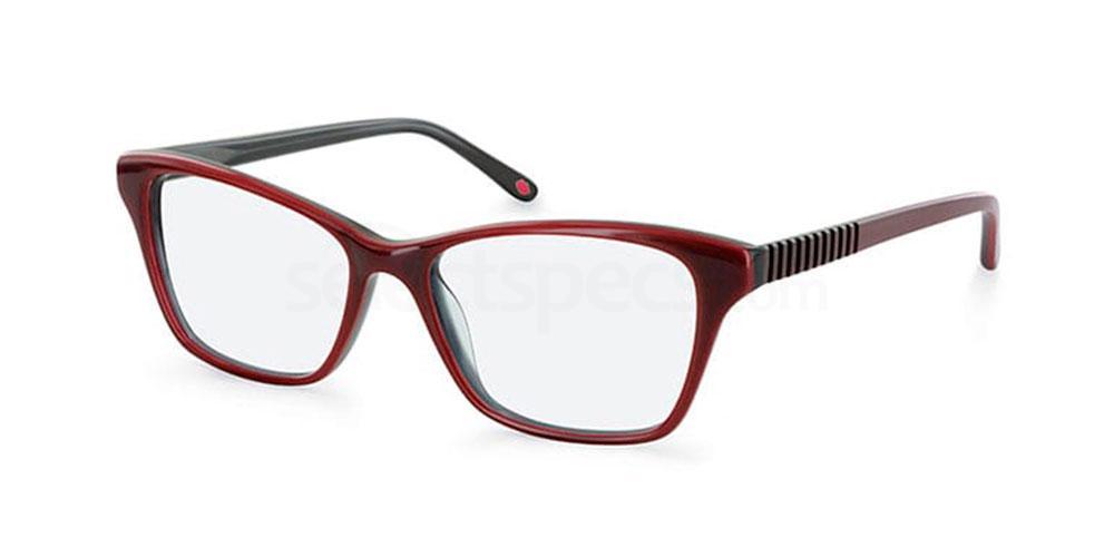 RED L899 Glasses, Lulu Guinness Eyewear
