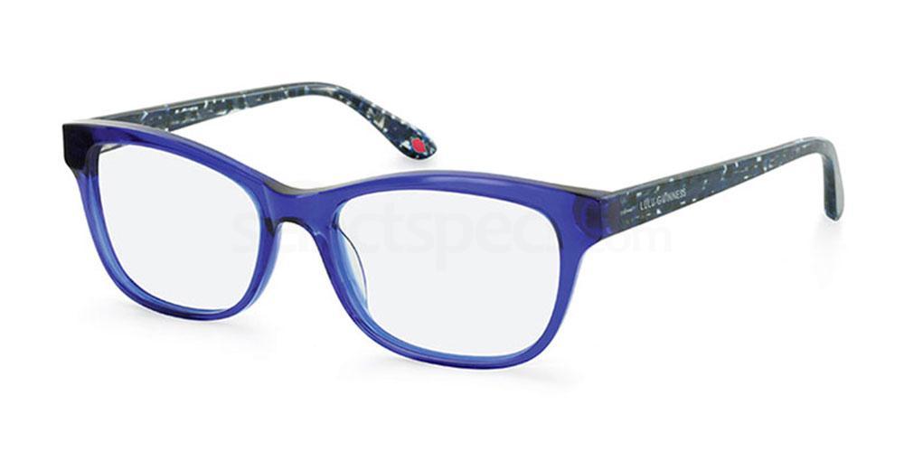 BLU L916 Glasses, Lulu Guinness Eyewear