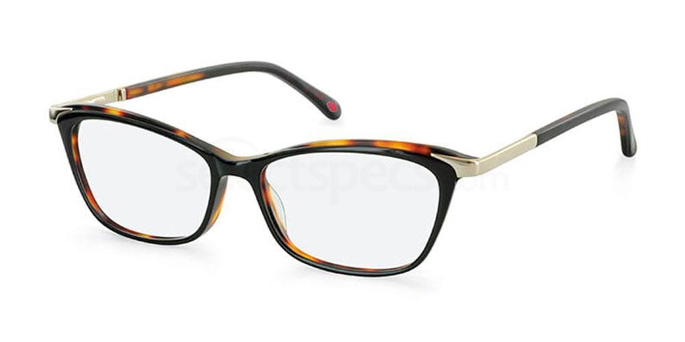 BLK L917 Glasses, Lulu Guinness Eyewear
