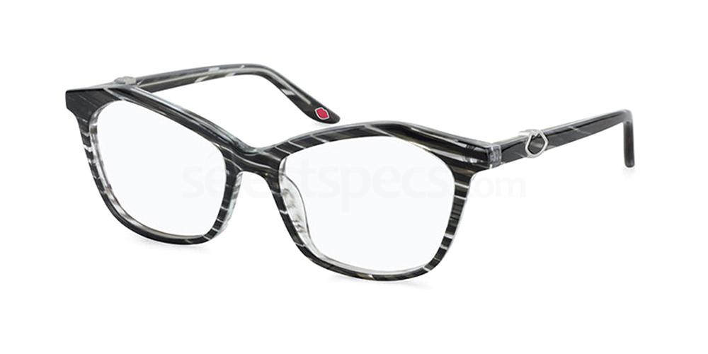 BLK L926 Glasses, Lulu Guinness Eyewear