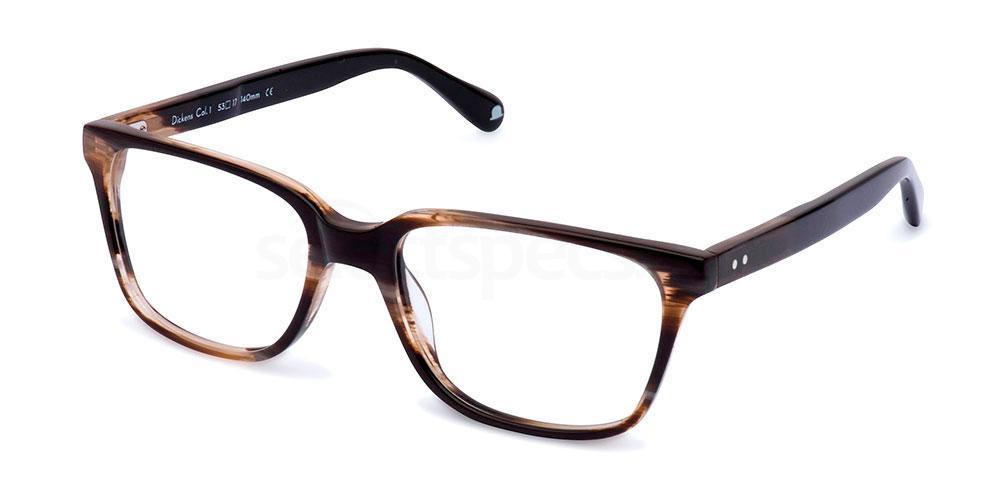 C1 DICKENS Glasses, Walter and Herbert