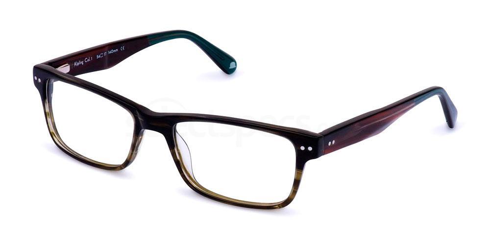 C1 KIPLING Glasses, Walter and Herbert