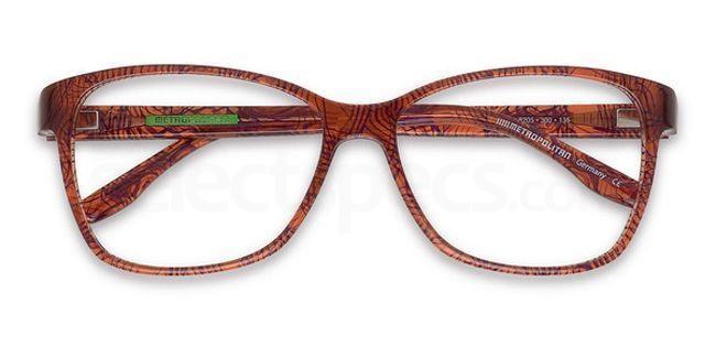 300 8205 Glasses, METROPOLITAN
