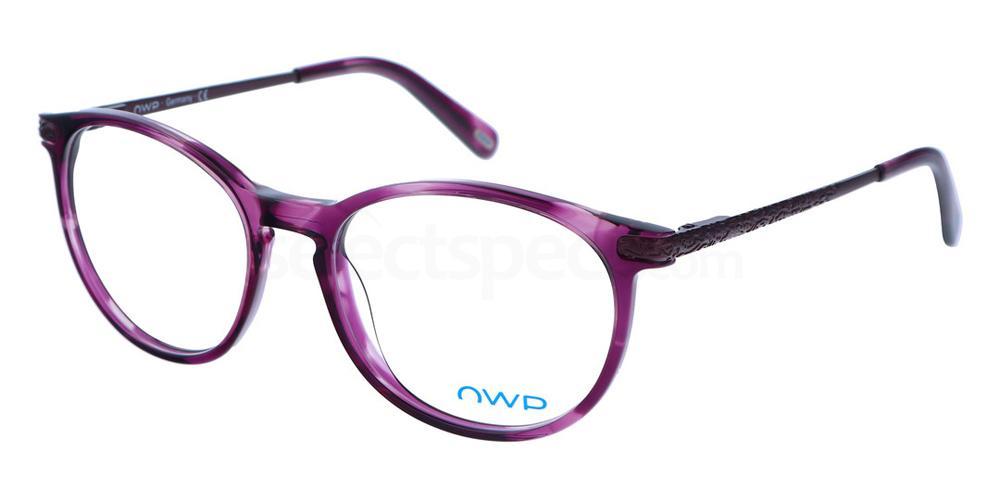 201 2159 Glasses, OWP BLAU