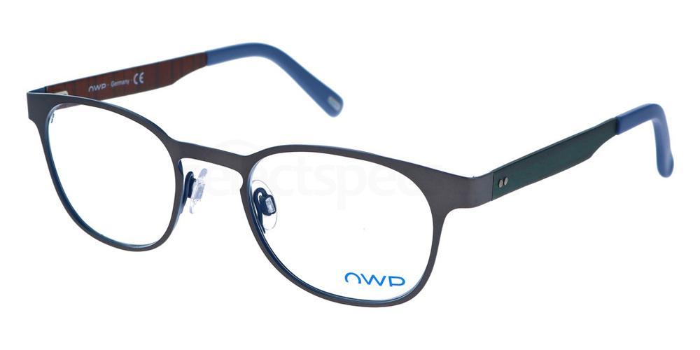 300 8609 Glasses, OWP BLAU