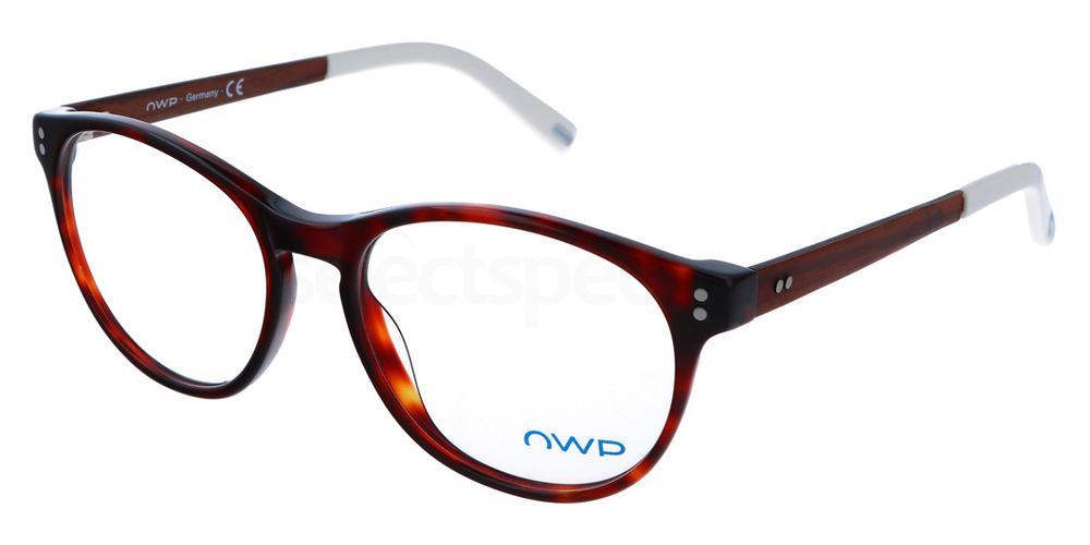 100 2156 Glasses, OWP BLAU