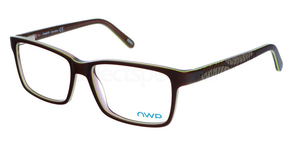 100 2155 Glasses, OWP BLAU