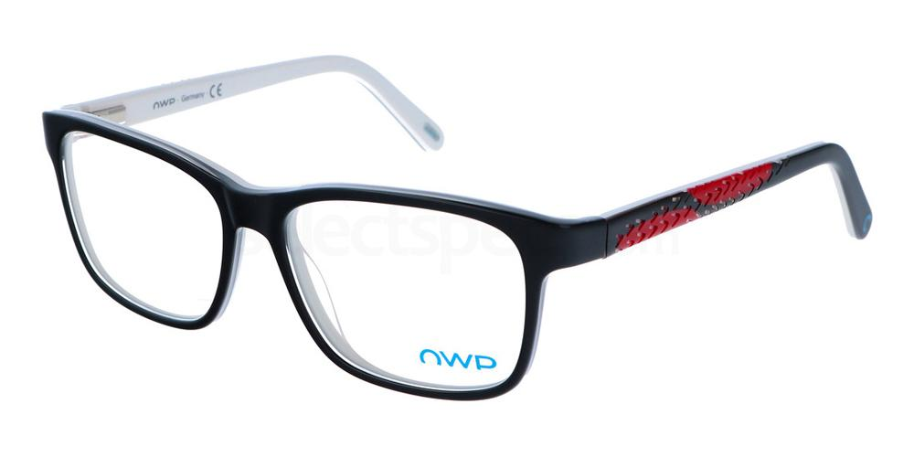 100 2154 Glasses, OWP BLAU