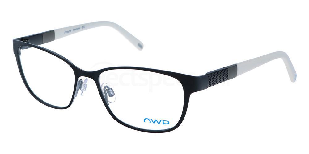 100 1409 Glasses, OWP BLAU