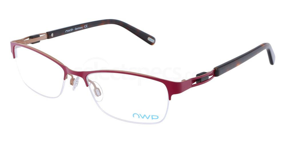 100 4301 Glasses, OWP BLAU