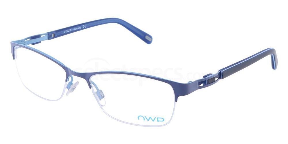 200 4301 Glasses, OWP BLAU