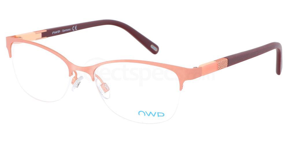 100 4303 Glasses, OWP BLAU