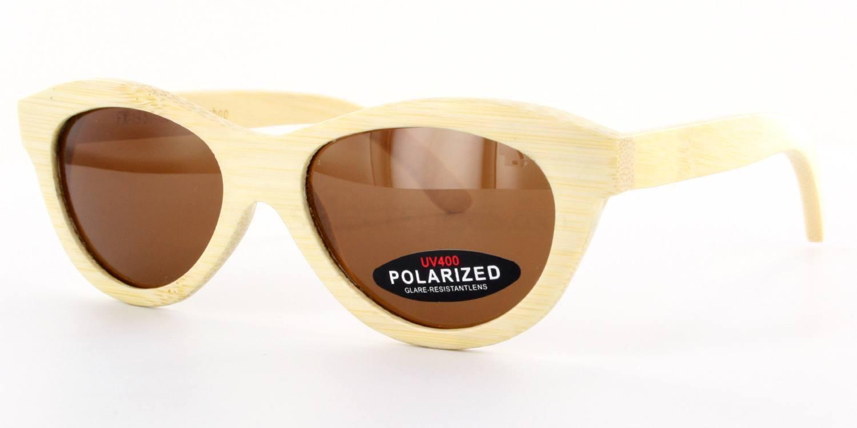 Bamboo FX-19 - Bamboo frame & Case Sunglasses, Arbor