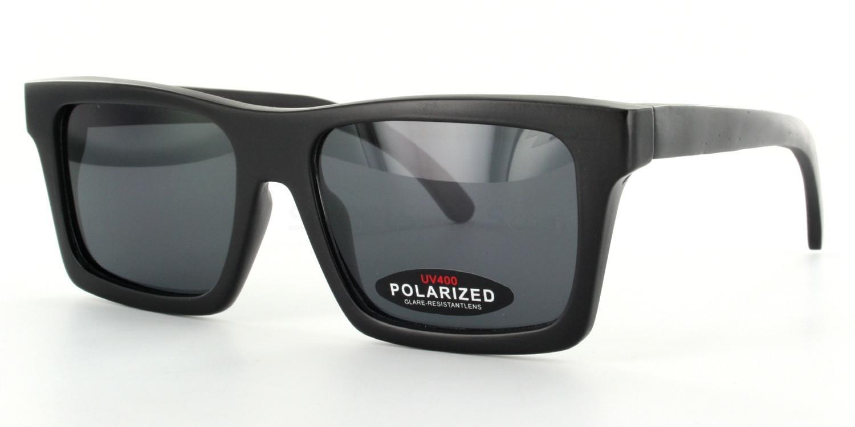 Black FX-79 - Bamboo frame & Case Sunglasses, Arbor