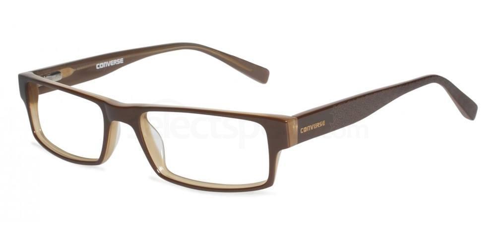 Brown Newsprint Glasses, Converse