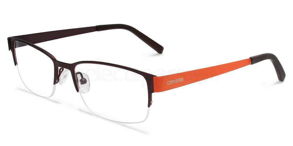 BROWN MATTE Q012 Glasses, Converse