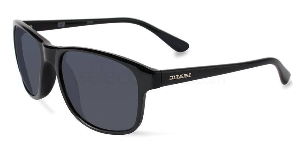 BLACK B011 Sunglasses, Converse