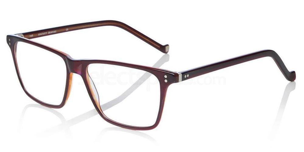 002 HEB143 Glasses, Hackett London Bespoke