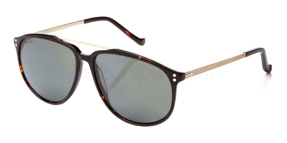 11P HSB853 Sunglasses, Hackett London Bespoke