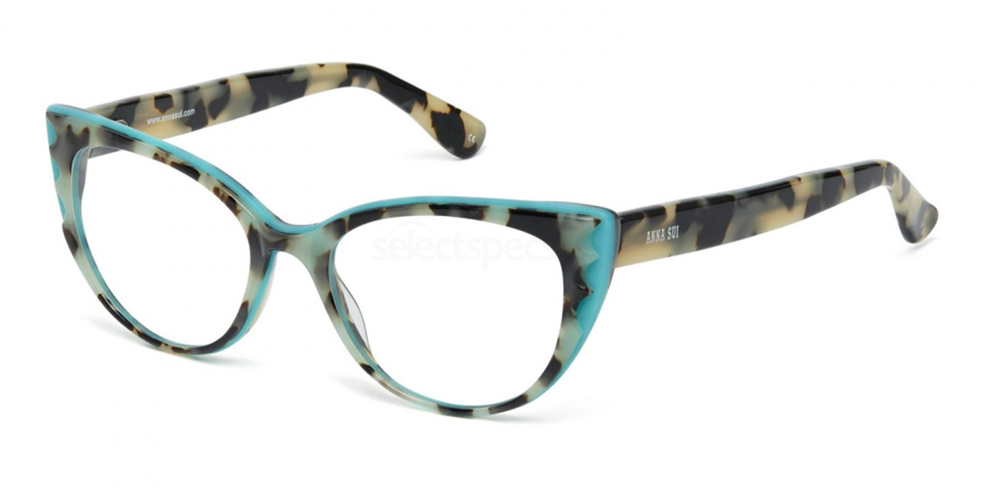 bold bright tortoiseshell glasses Anna Sui AS5068